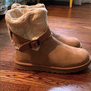 Barely worn UGG sweater boots